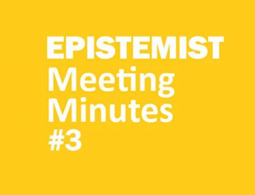 Meeting Minutes #3