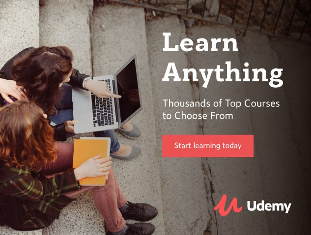 udemy poster